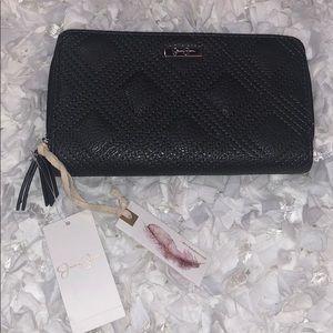 Jessica Simpson Slate Grey Sadie Wallet NWT